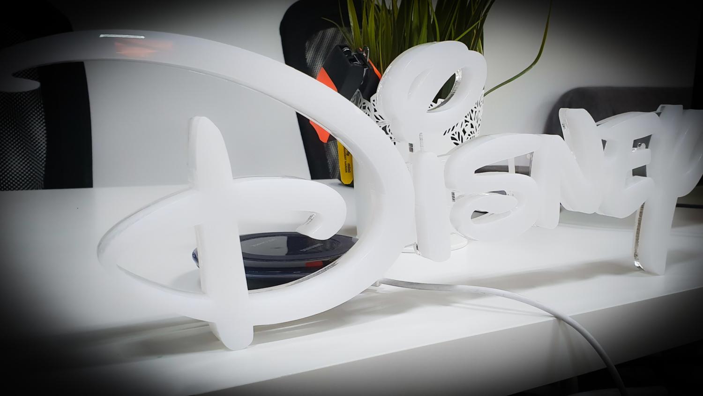litere volumetrice din plexiglas disney pentru un proiect deosebit